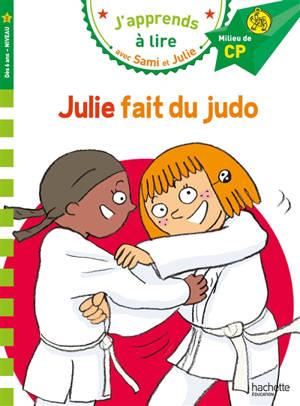 Julie fait du judo : milieu de CP, niveau 2