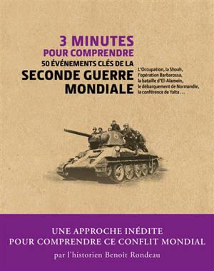 3 minutes pour comprendre les 50 événements clés de la Seconde Guerre mondiale