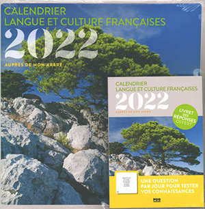 Auprès de mon arbre : calendrier langue et culture françaises 2022