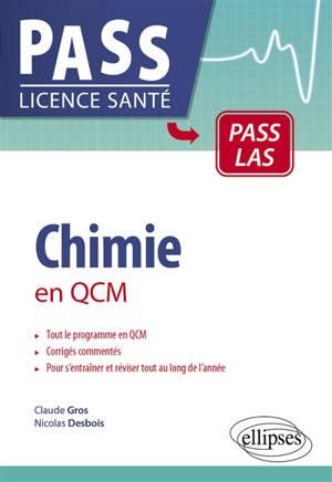 Chimie en QCM : Pass LAS