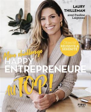 Happy entrepreneure