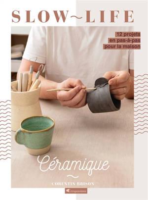 Céramique : 12 projets en pas-à-pas pour la maison