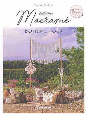 Macramé bohème folk