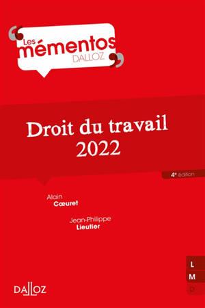 Droit du travail : 2022