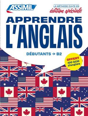 Apprendre l'anglais : débutants, B2 : pack