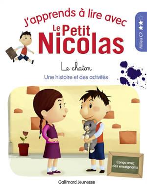 J'apprends à lire avec le Petit Nicolas. Volume 7, Le chaton