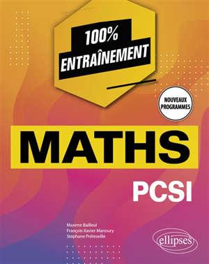 Maths PCSI : nouveaux programmes
