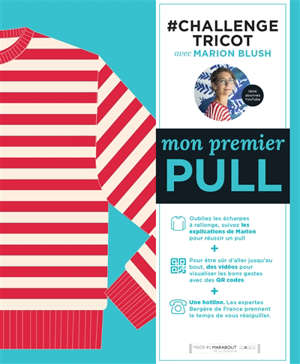 #challenge tricot : mon premier pull : oubliez les écharpes à rallonge, tricotez un pull !