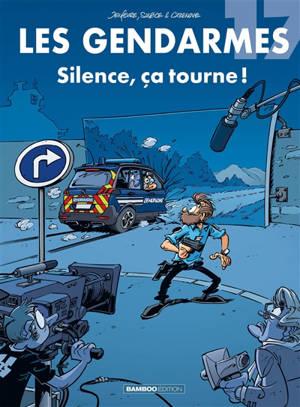 Les gendarmes. Volume 17, Silence, ça tourne !