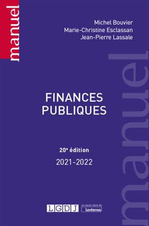 Finances publiques : 2021-2022