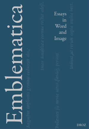 Emblematica : essays in word and image. n° 4