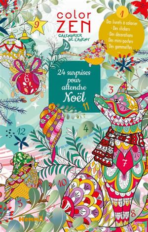 24 surprises pour attendre Noël : calendrier de l'Avent