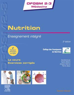 Nutrition : enseignement intégré