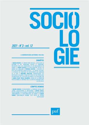 Sociologie. n° 3 (2021)