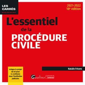 L'essentiel de la procédure civile : 2021-2022