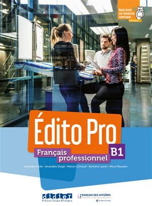Edito pro, français professionnel, B1