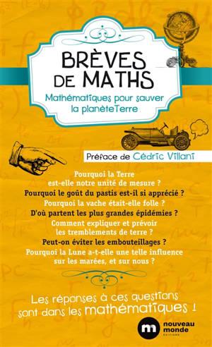 Brèves de maths : mathématiques de la planète Terre