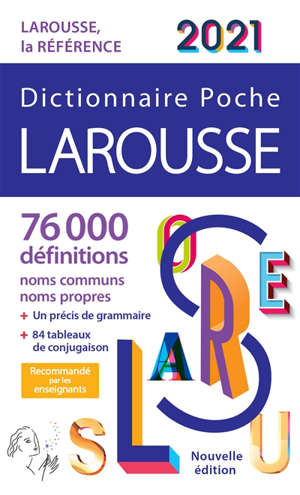 Dictionnaire Larousse poche 2021