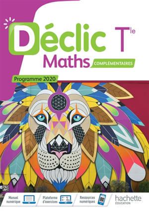 Maths complémentaires terminale : programme 2020