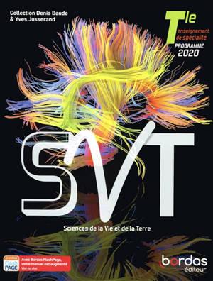 SVT, sciences de la vie et de la Terre terminale, enseignement de spécialité : programme 2020
