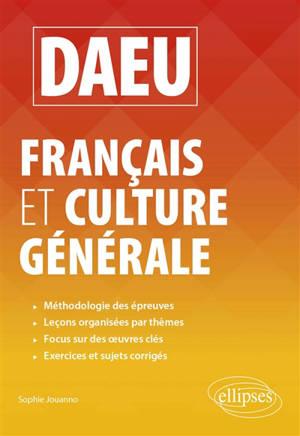 DAEU, français et culture générale