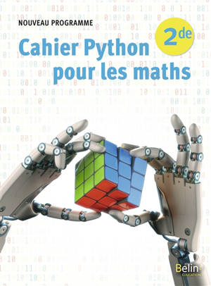 Cahier Python pour les maths 2de : nouveau programme