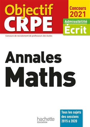 Annales maths : admissibilité écrit, concours 2021