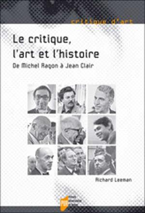 Le Critique, l'art et l'histoire