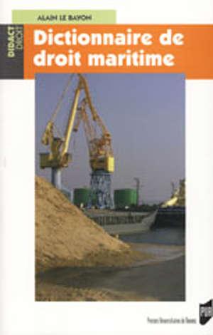 Dictionnaire de droit maritime