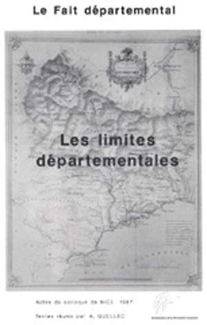 Les Limites départementales