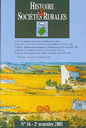 De l'environnement au territoire : regards croisés sur les sociétés rurales