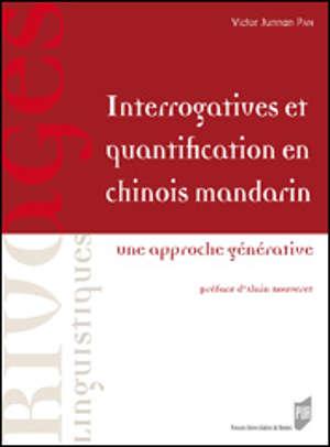 Interrogatives et quantification en chinois mandarin