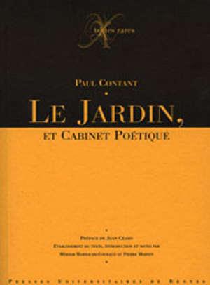 Le Jardin, et Cabinet poétique