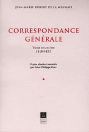 Correspondance générale, vol. II