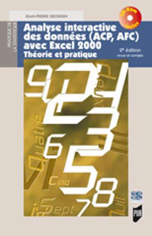 Analyse interactive des données (ACP, AFC) avec Excel 2000