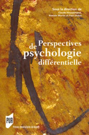 Perspectives de psychologie différentielle