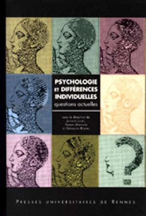 Psychologie et différences individuelles