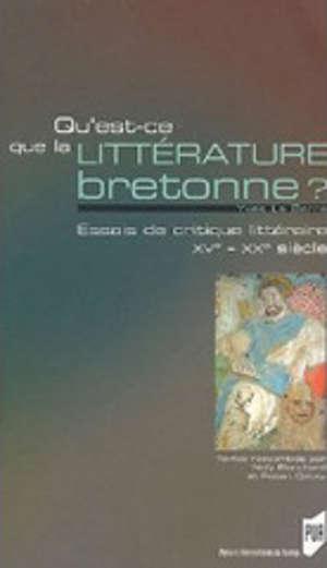 Qu'est-ce que la littérature bretonne ?