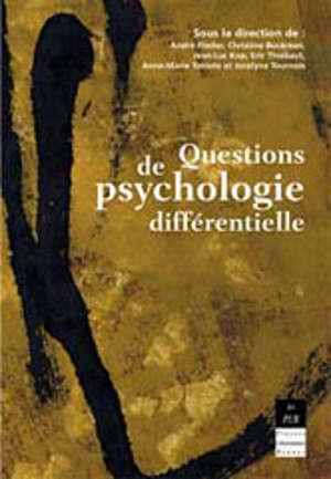 Questions de psychologie différentielle