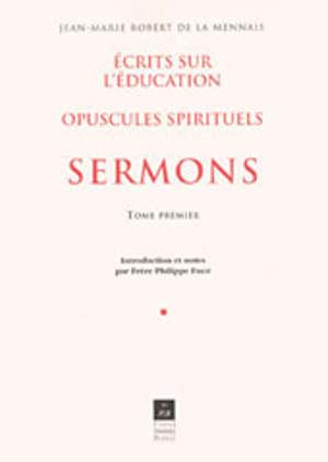 Sermons, t. I