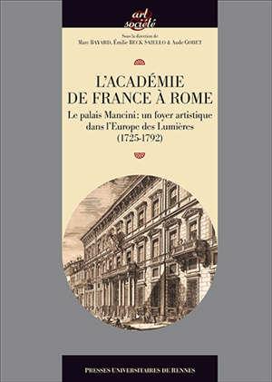 L'Académie de France à Rome au XVIIIe siècle