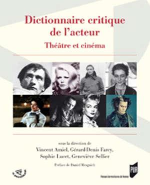 Dictionnaire critique de l'acteur