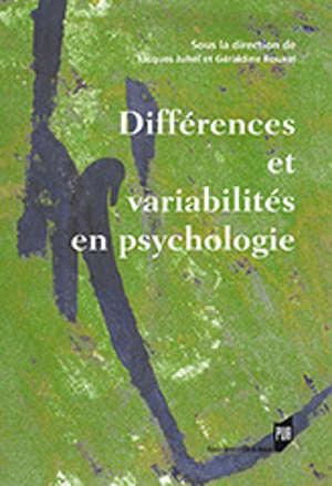 Différences et variabilités en psychologie