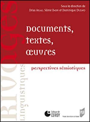 Documents, textes, œuvres