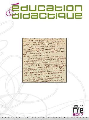 Education et Didactique 11/2