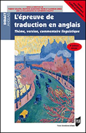 L'épreuve de traduction en anglais - 2e édition révisée