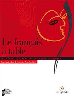Le français à table