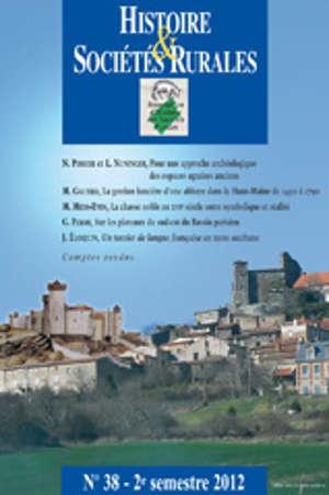 Histoire & Sociétés Rurales 38