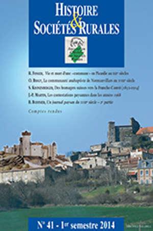 Histoire et sociétés rurales 41 (HSR 41)