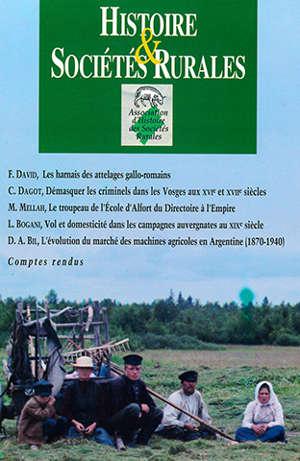 Histoire et sociétés rurales 43 (HSR 43)